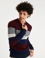 American Eagle Outfitters AE Striped Crew Neck Sweater