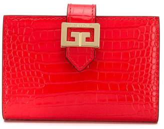Givenchy crocodile-embossed wallet