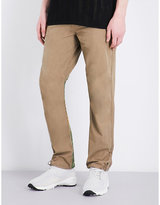 Maharishi Tiger-embroidered Cotton Trousers