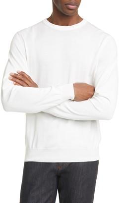 Canali Classic Fit Cotton Crewneck Sweater