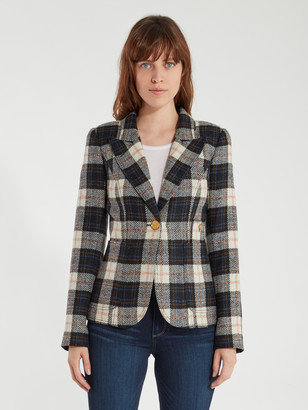 Smythe Patch Pocket Duchess Wool Blazer