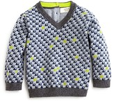 Armani Junior Armani Boys' Logo Print Sweater - Sizes 12-36 Months
