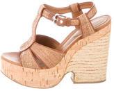 Dolce & Gabbana Woven Platform Sandals