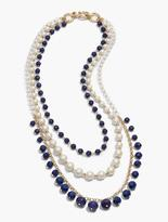 Talbots Multi-Strand Rondelle Bead Necklace