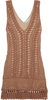 Melissa Odabash Alexis Crocheted Cotton Dress