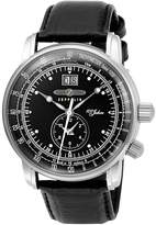Zeppelin 100th anniversary Memorial Model LZ1 Quartz Men's Watch 7640-2 Black