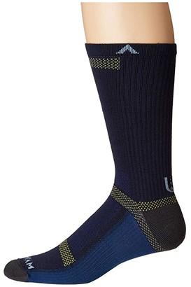 Wigwam Ultra Cool-Lite Crew (Navy II) Crew Cut Socks Shoes