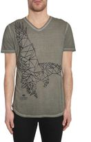Tom Rebl V Collar T-shirt
