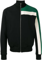 MSGM colour block jersey jacket