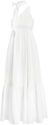 Zimmermann Juliette Tie Neck Dress