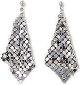 Stately Steel Stainless Steel Mesh Earrings