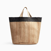 James Perse PLAYA TIPPED LARGE HEMP TOTE