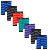 Fruit of the Loom Boys' 7-Pack Mid Rise Boxer Briefs - Multicolored