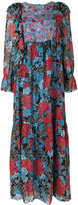 See by Chloe dream print peasant dress - women - Silk/Viscose - 38