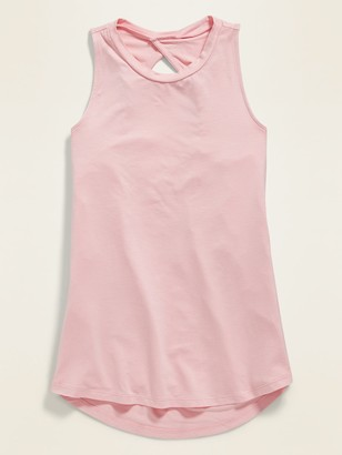 Old Navy Twist-Back Keyhole Tank Top for Girls