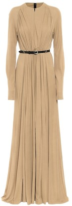 Petar Petrov Arcilla belted maxi dress