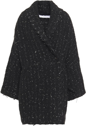 IRO Pelops Oversized Double-breasted Boucle-tweed Coat