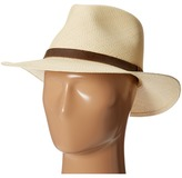 Tommy Bahama Panama Outback Hat with Leather Trim Traditional Hats