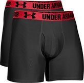 Under Armour pack de 2 boxer polyester elasthane noir - s