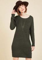 Vero Moda Knit the Big Time Sweater Dress