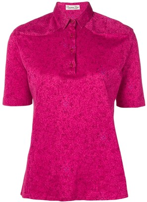 Christian Dior Pre-Owned 1970's polo shirt