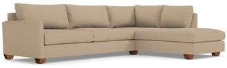 Apt2B Tuxedo 2pc Sectional Sofa RAF in BEIGE