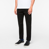 Paul Smith Men's Tapered-Fit Black Stretch-Denim Jeans
