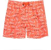 Sundek Kids' Squiggle-Print Swim Trunks