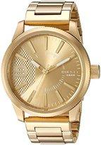 Diesel Men's DZ1761 Rasp Gold Watch