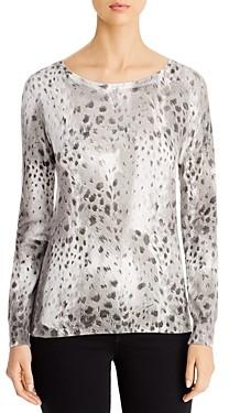 Sioni Animal Print Sweater