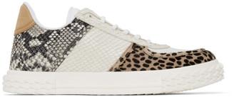 Giuseppe Zanotti White Python Tarzan Blabber 2.0 Sneakers