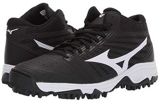 Mizuno Ambition As Mid (Black/White) Men's Shoes
