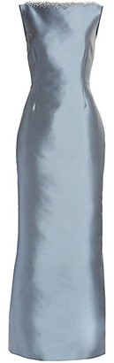 Catherine Regehr Embellished Silk Radzimir Gown