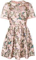 Piccione Piccione Piccione.Piccione floral print mini dress