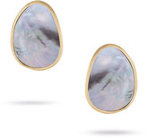 Marco Bicego Lunaria Stud Earrings with Black Mother-of-Pearl