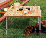 Sojourner Roll-Up Picnic Table