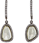 Monique Péan Women's White Diamond & Yellow Sapphire Earrings