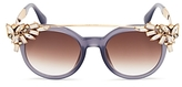 Jimmy Choo Vivys Embellished Sunglasses, 51mm