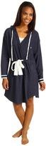 Tommy Hilfiger Short Robe w/Tennis Cuffs (Midnight Heather Navy) - Apparel