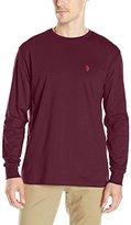 U.S. Polo Assn. Men's Long-Sleeve Crew-Neck T-Shirt