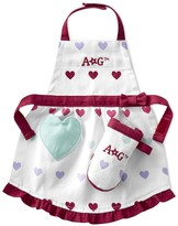 Williams-Sonoma American GirlTM; by Williams Sonoma Hearts Doll Apron & Mitt