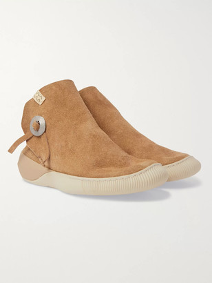 Visvim Gila Moc Mid Ii Suede High-Top Sneakers