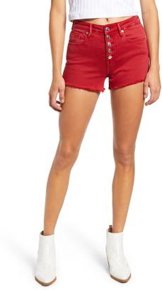 Vigoss Ace High Waist Denim Shorts