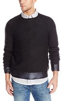 Kenneth Cole New York Kenneth Cole Men's Herringbone Crew Sweater