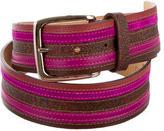 Etro Leather Printed Belt