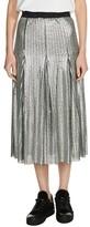 Maje Women's Sequin Midi Skirt