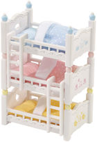 International Playthings Calico Critters Triple Baby Bunk Beds
