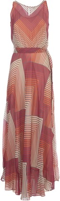 Twin-Set TwinSet Long Dress W/waist Slit