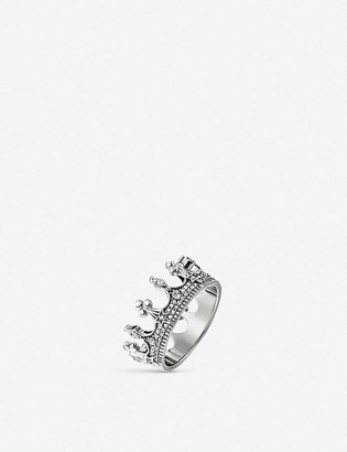 Thomas Sabo Kingdom of Dreams sterling silver Crown ring