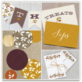 Minted Foliage Thanksgiving Dream Party